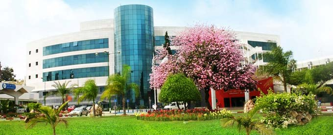 Медицинский центр Асаф ха Рофэ, вид с улицы