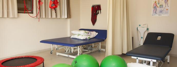 Больница Асута, комната физиотерапии