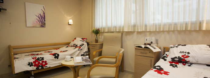 Больница Асута, палата