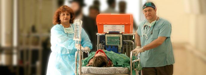 Больница Бейлинсон, скорая помощь