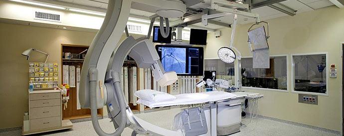Больница Бейлинсон, катетеризация