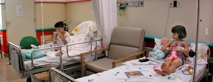 Больница Шнайдер, детская палата