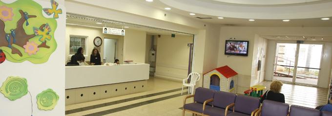 Больница Шнайдер, приемная комната