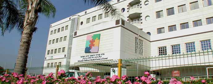 Больница Шнайдер, вид с улицы